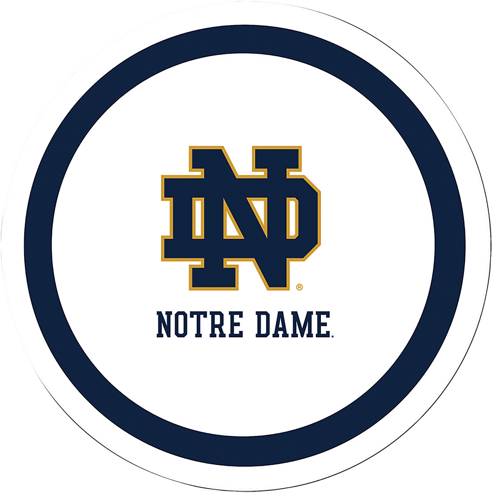 Notre Dame Fighting Irish Lunch Plates 8ct Image #1