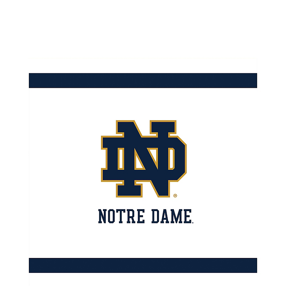 Notre Dame Fighting Irish Lunch Napkins 20ct Image #1