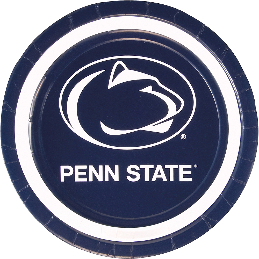 Penn State Nittany Lions Lunch Plates 10ct Image #1