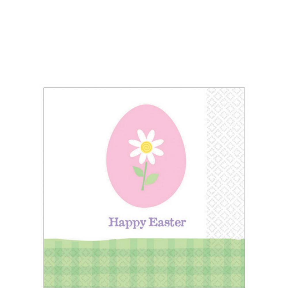 Nav Item for Eggstravaganza Beverage Napkins 30ct Image #1