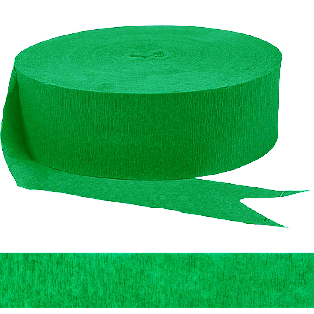Festive Green Streamer Image #1