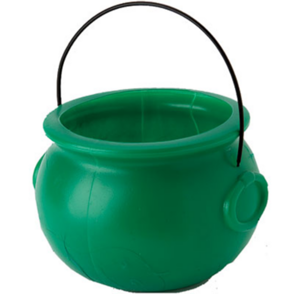 Pot of Gold Green Cauldron Image #1