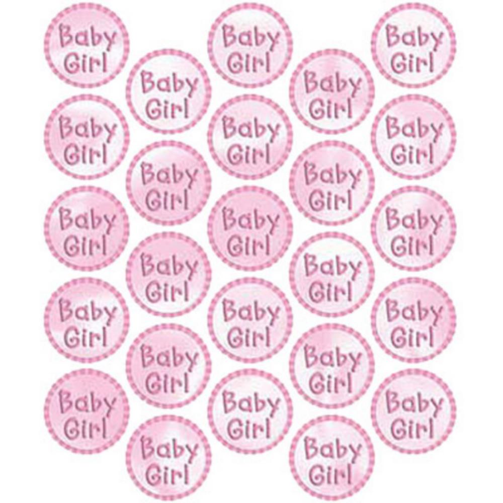 Baby Girl Sticker Seals 25ct Image #1