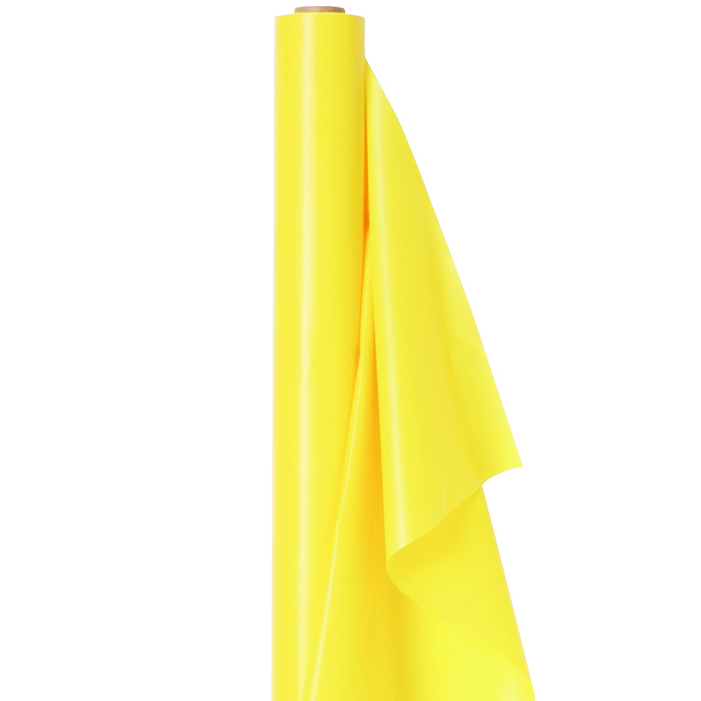 Nav Item for Light Yellow Plastic Table Cover Roll Image #1