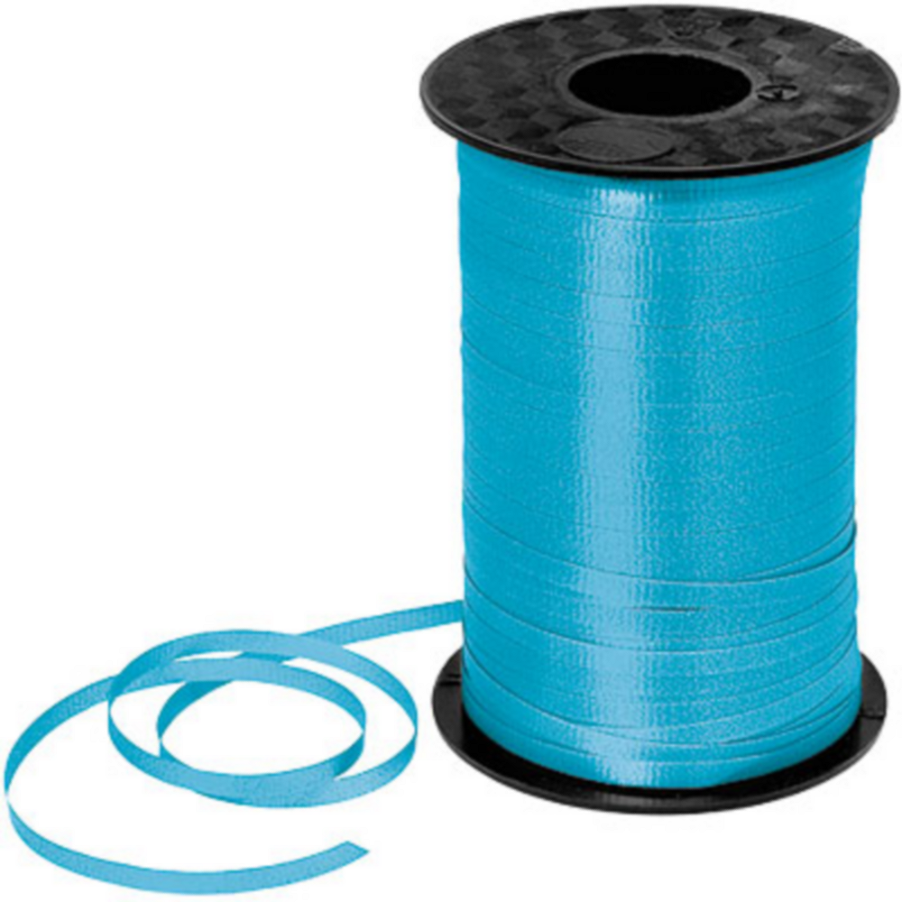 Turquoise Curling Ribbon Image #1