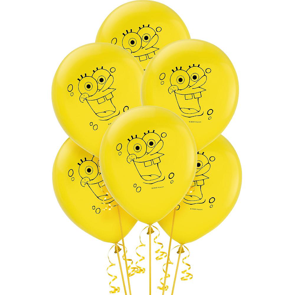 SpongeBob Balloons 6ct Image #1