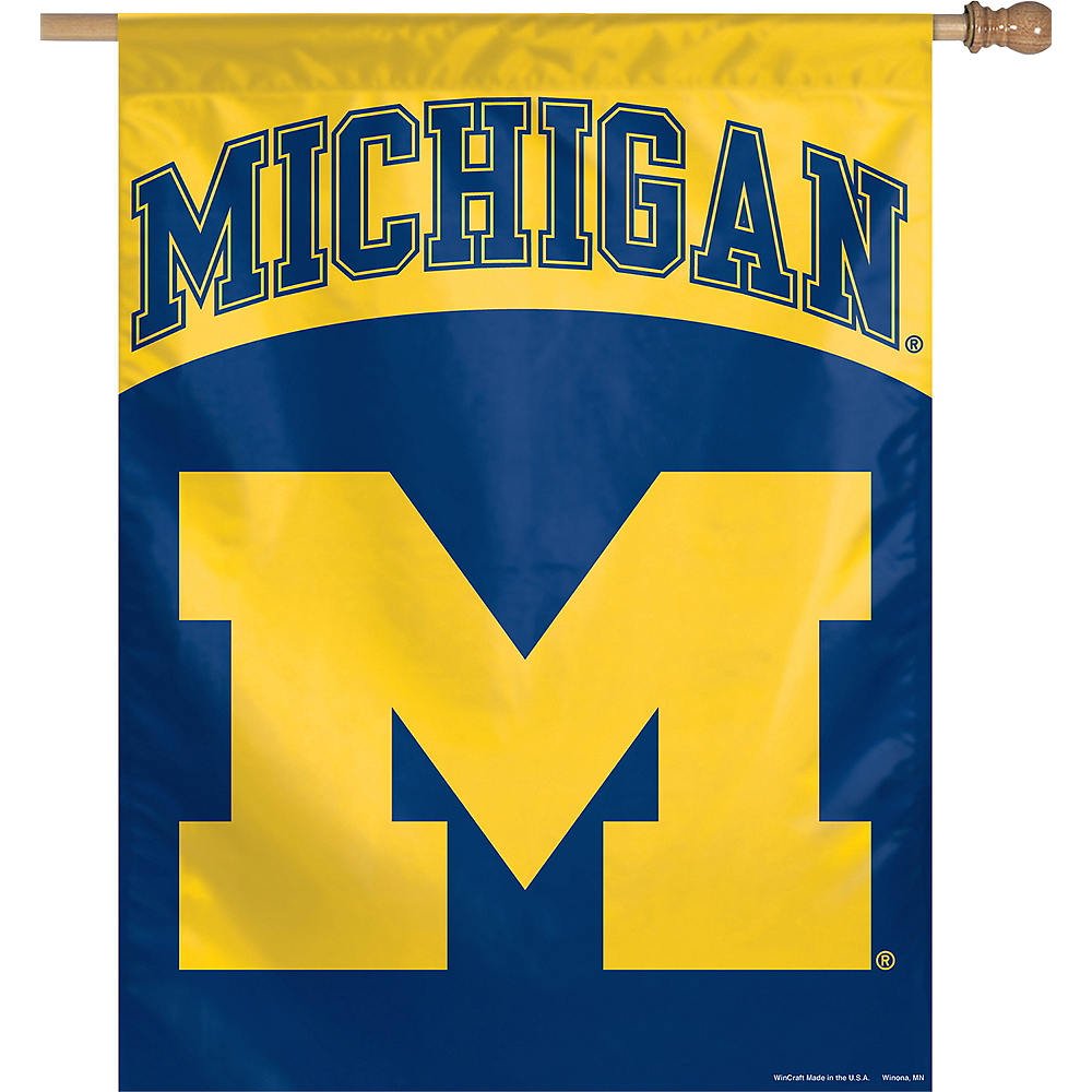 Michigan Wolverines Banner Flag Image #1