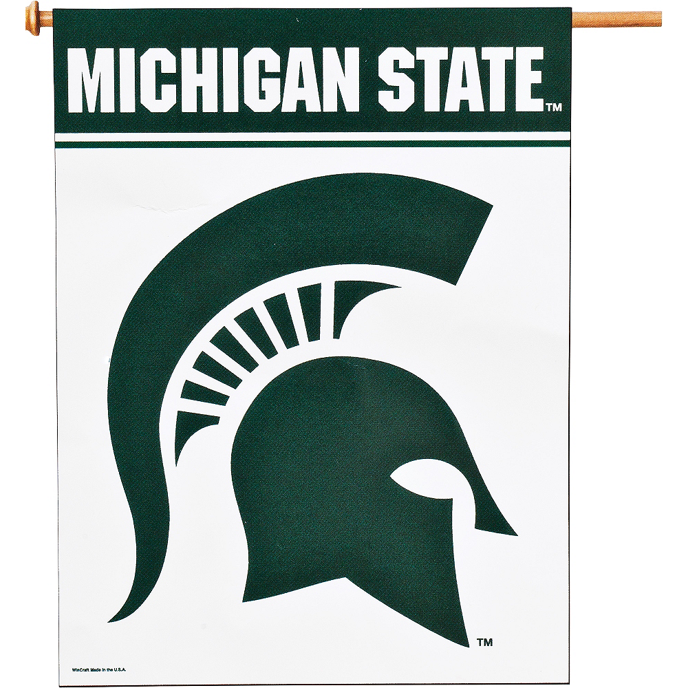 Michigan State Spartans Banner Flag Image #1