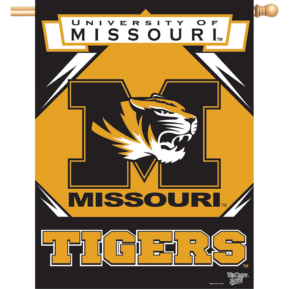 Missouri Tigers Banner Flag Image #1