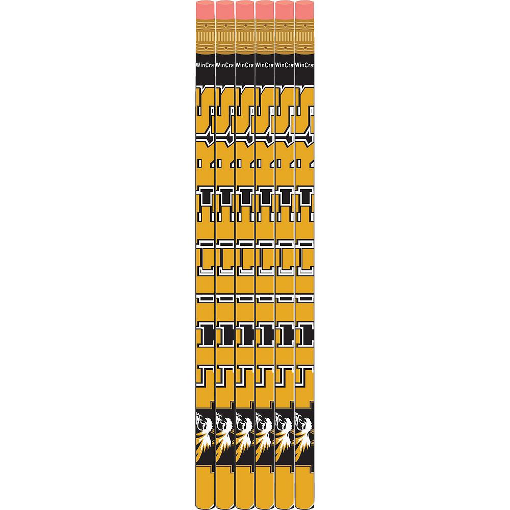 Missouri Tigers Pencils 6ct Image #1