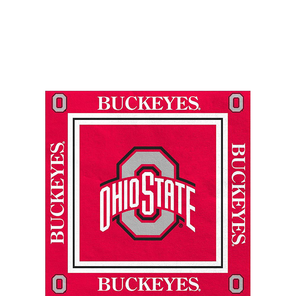 Ohio State Buckeyes Beverage Napkins 16ct Image #1