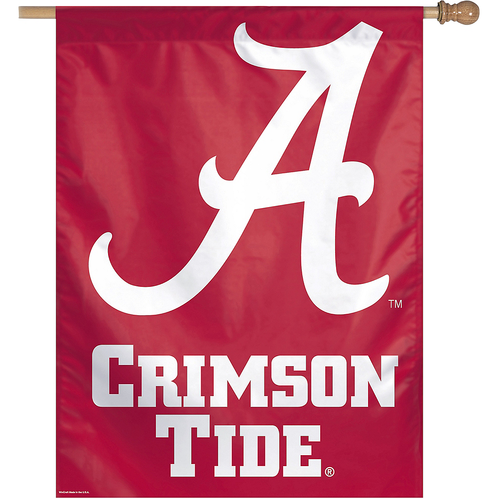 Alabama Crimson Tide Banner Flag Image #1