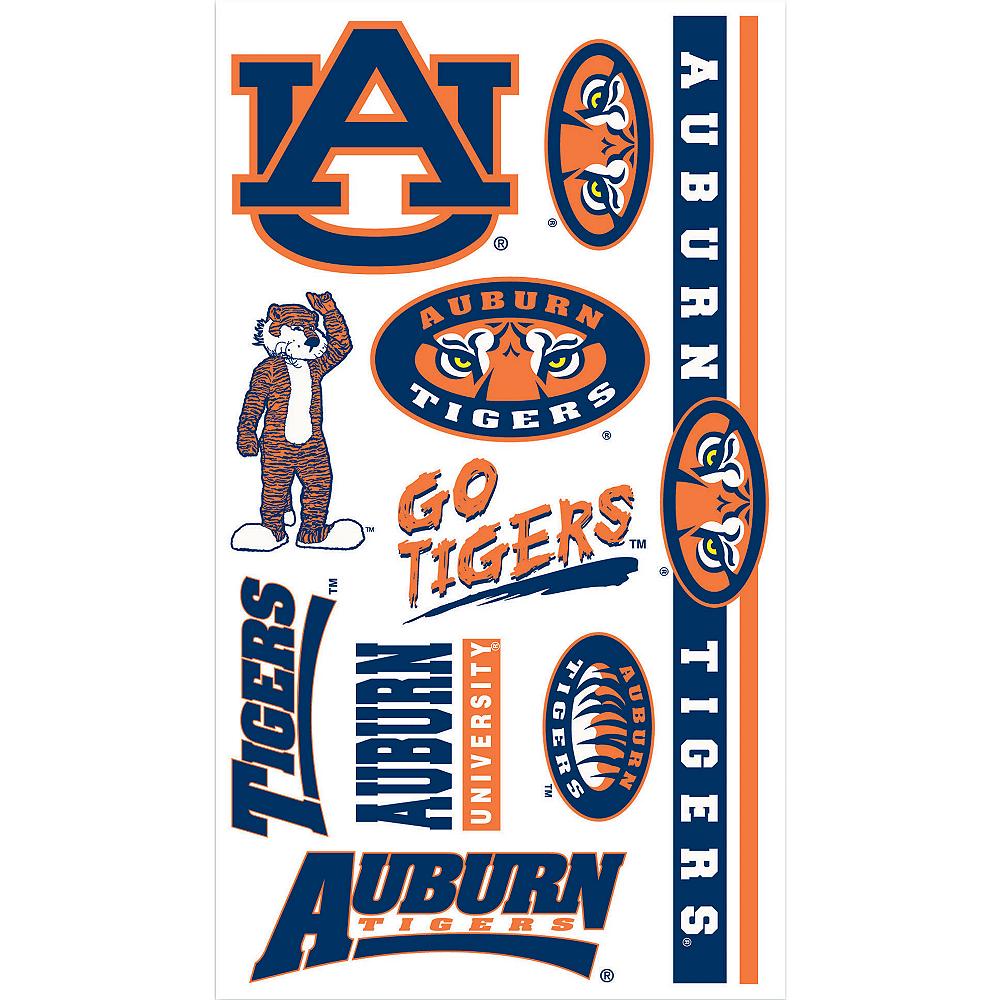 Auburn Tigers Tattoos 10ct Image #1