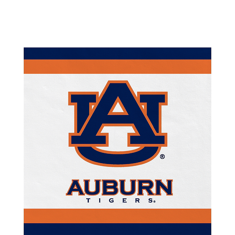 Auburn Tigers Lunch Napkins 20ct Image #1