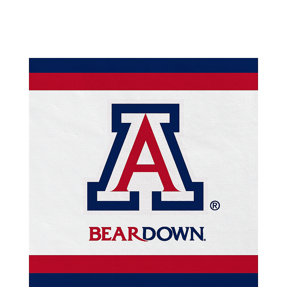 Arizona Wildcats Lunch Napkins 20ct Image #1