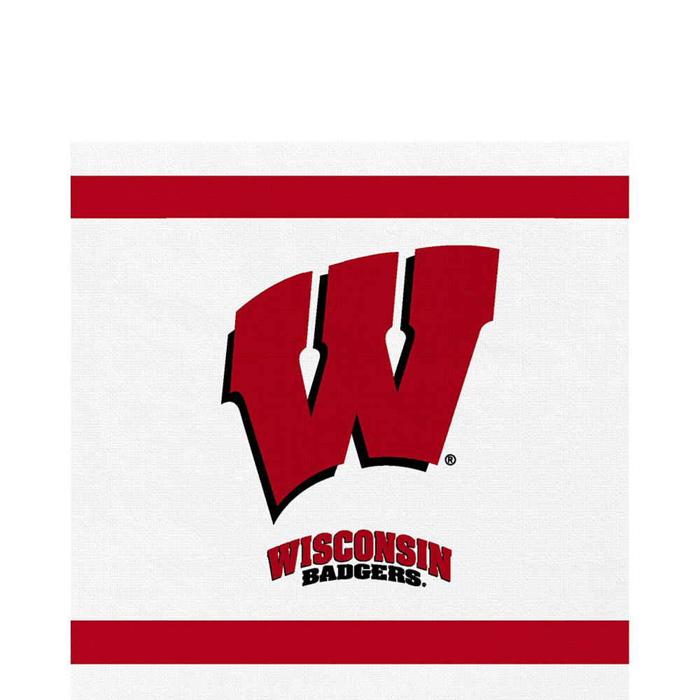Wisconsin Badgers Lunch Napkins 20ct Image #1