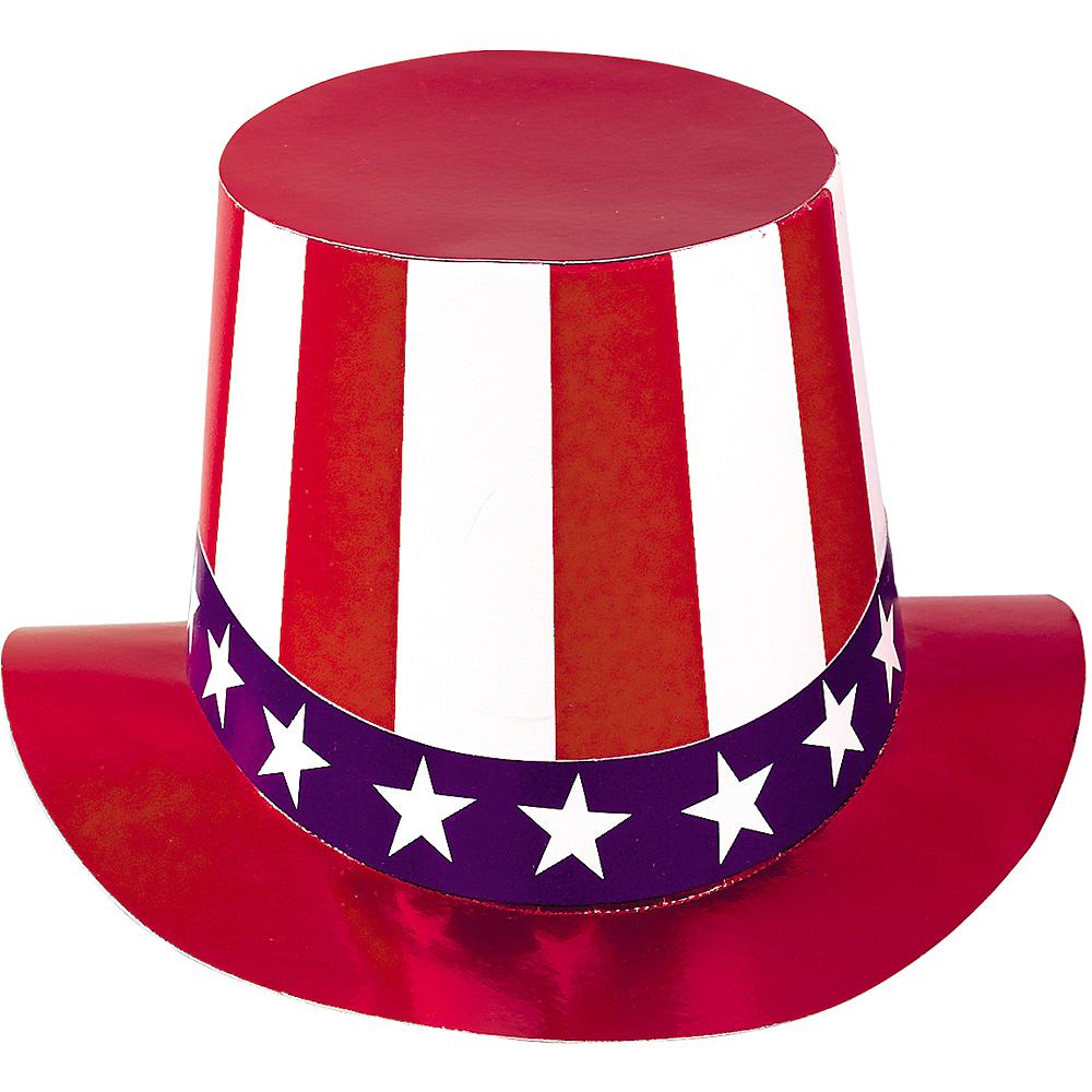 946fabbe4f5 Nav Item for Patriotic Uncle Sam Hat Image  1 ...