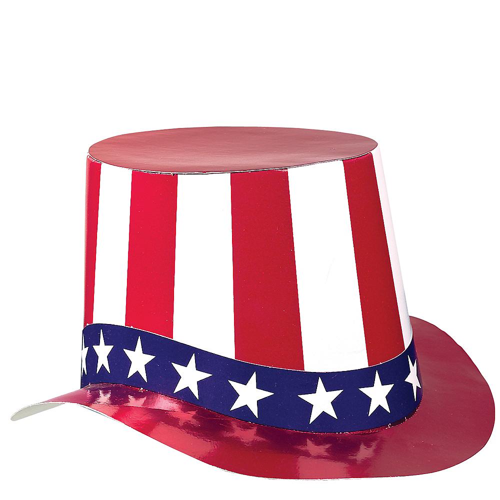 Patriotic Uncle Sam Hat Image #2