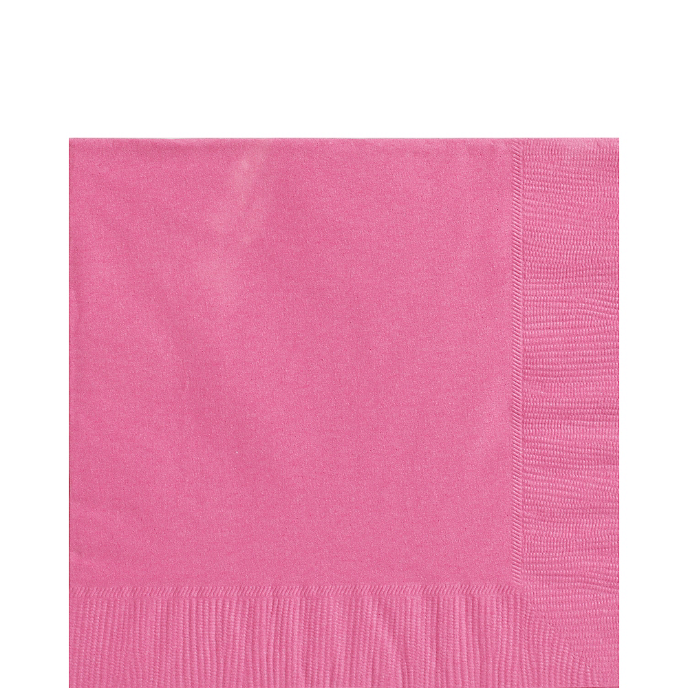 Nav Item for Bright Pink Lunch Napkins 50ct Image #1