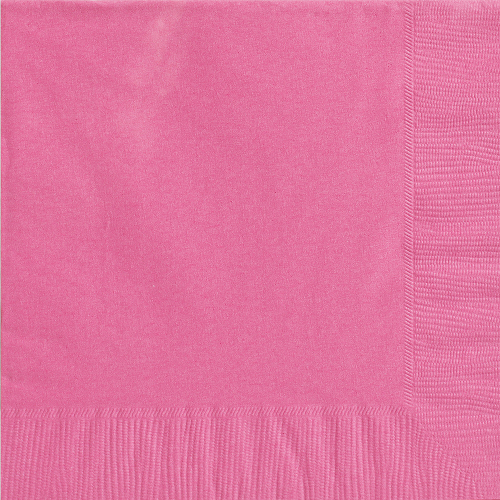Nav Item for Bright Pink Dinner Napkins 20ct Image #1