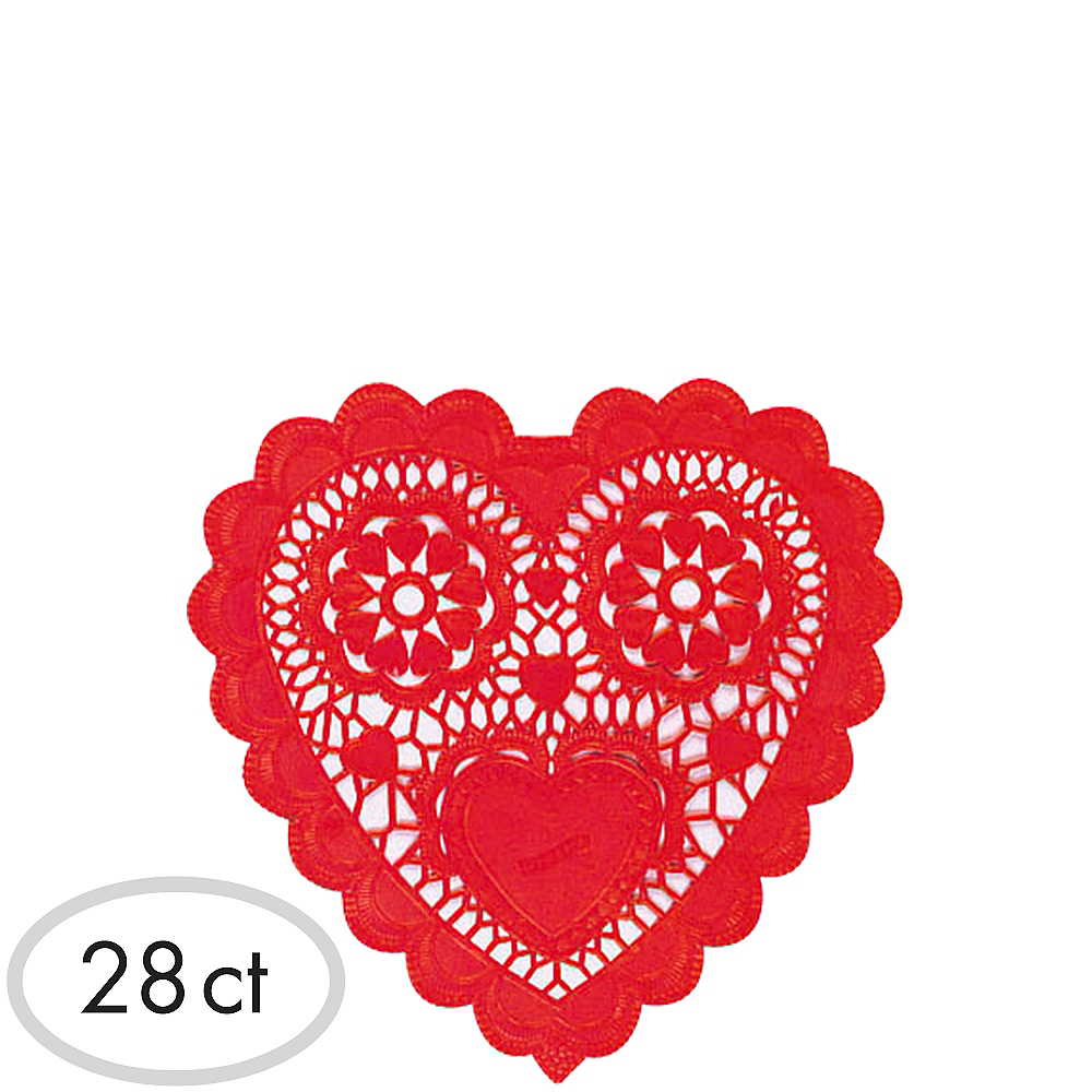 Red Heart Doilies 28ct Image #1