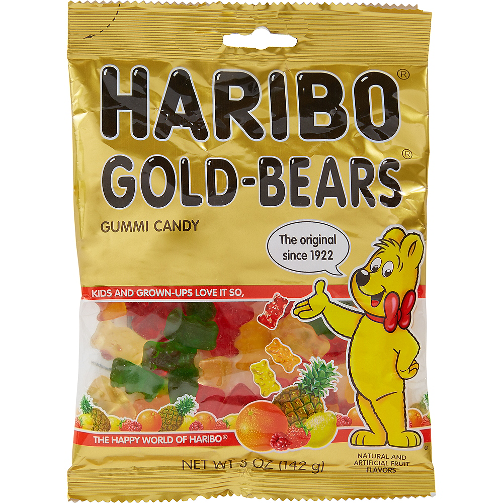 Haribo Gold Bears Gummi Candy 59pc Image #1