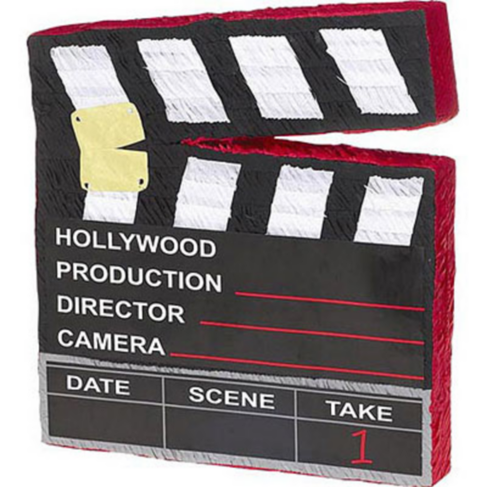 Movie Scene Marker Pinata Image #1