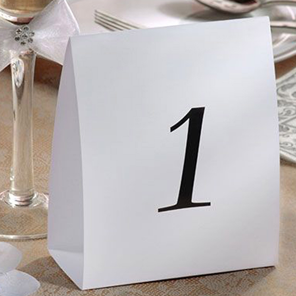 table number tent cards 1 12 party city