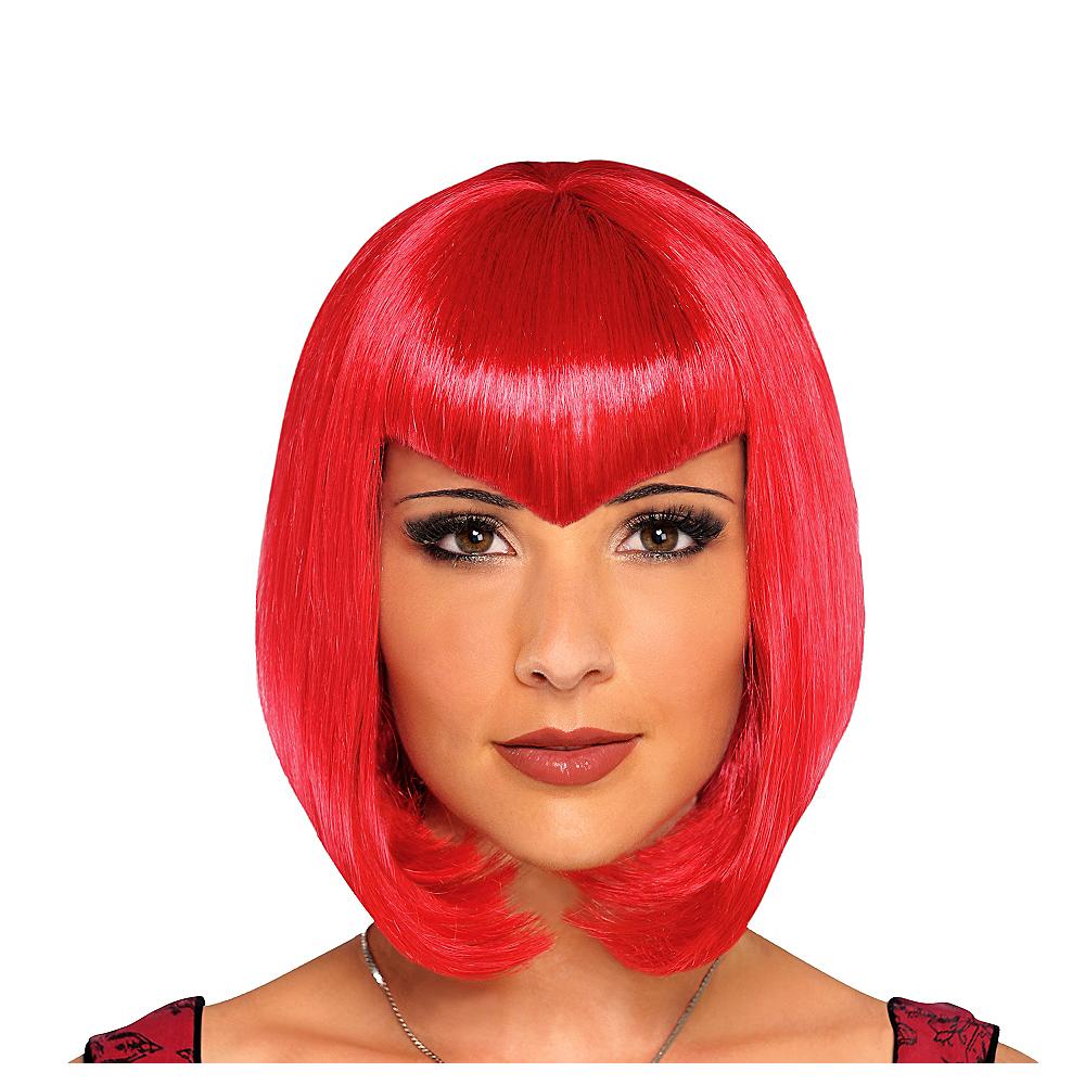 Va Va Vampiress Short Red Wig Image #1