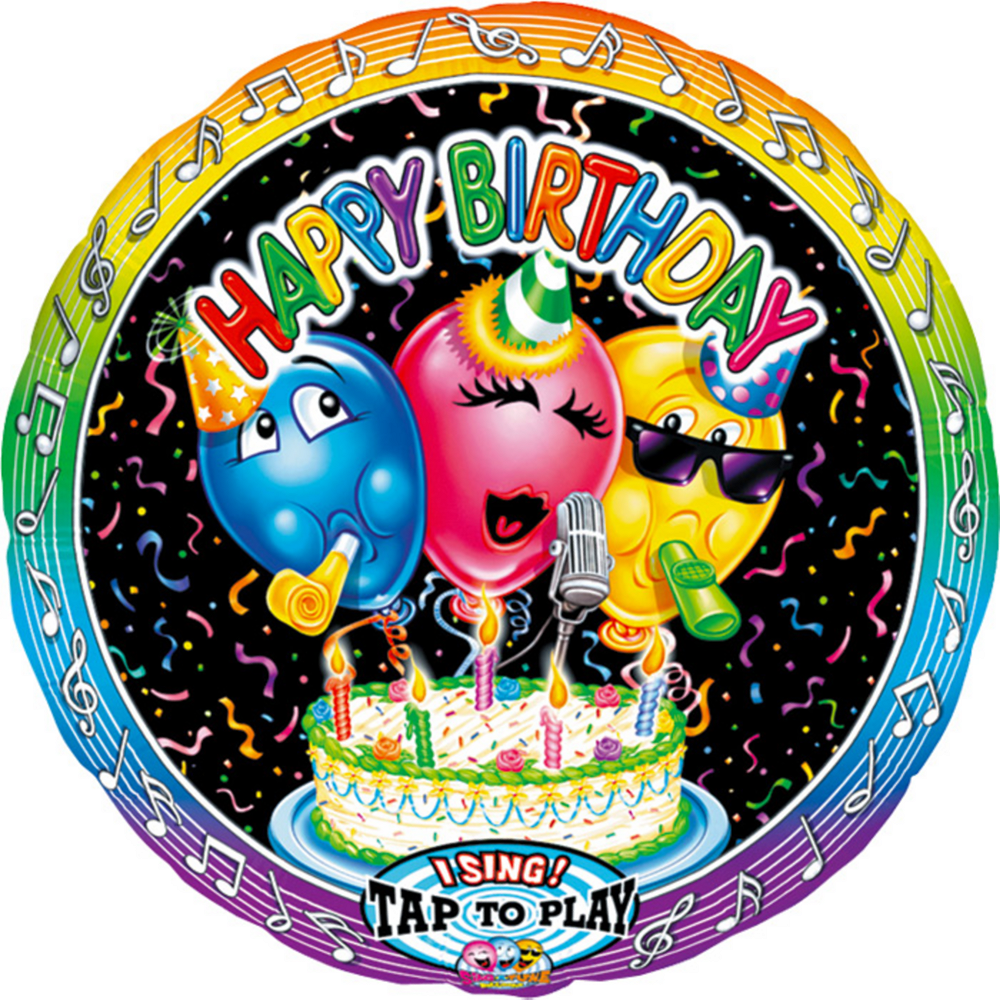 Singing Happy Birthday Balloon Image 1