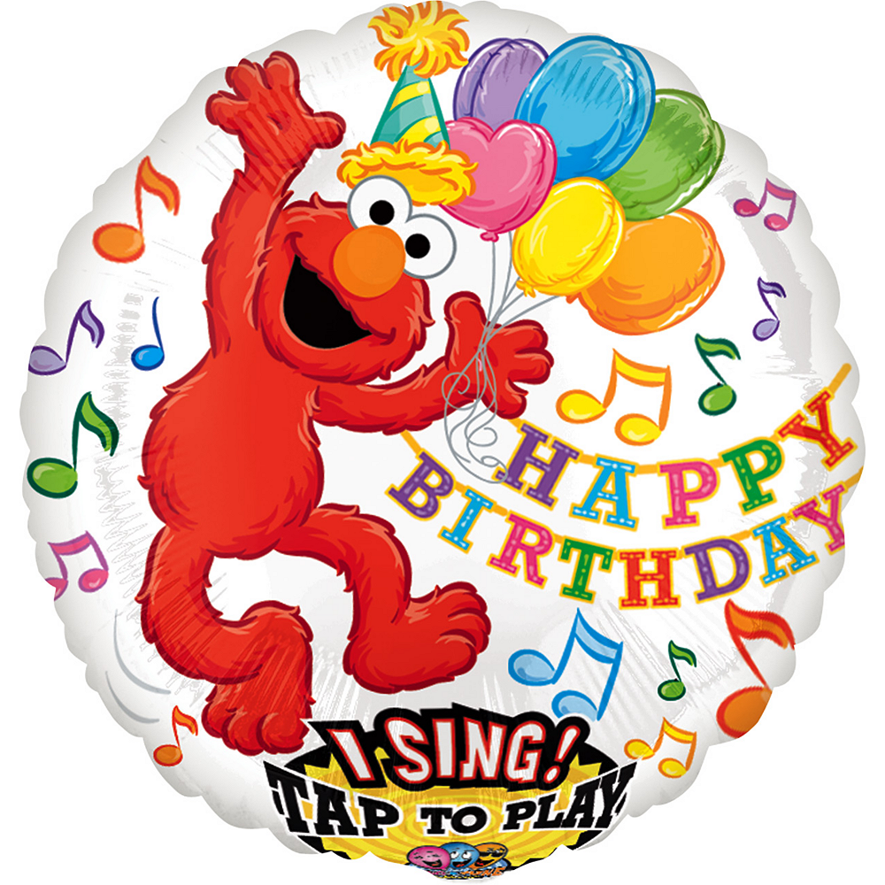 "Sesame Street Elmo//Friends 24 Count Party Balloon Pack Large 12/"" Latex Balloons"