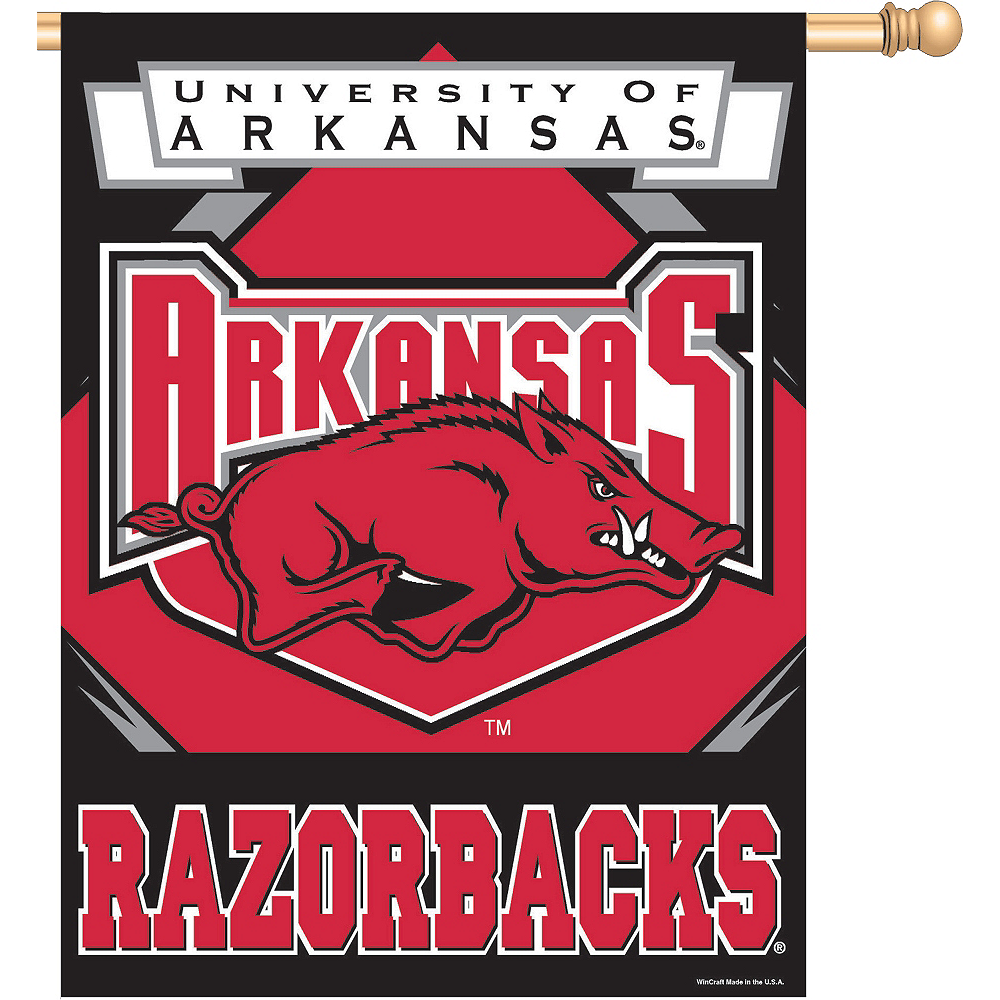 Arkansas Razorbacks Banner Flag Image #1