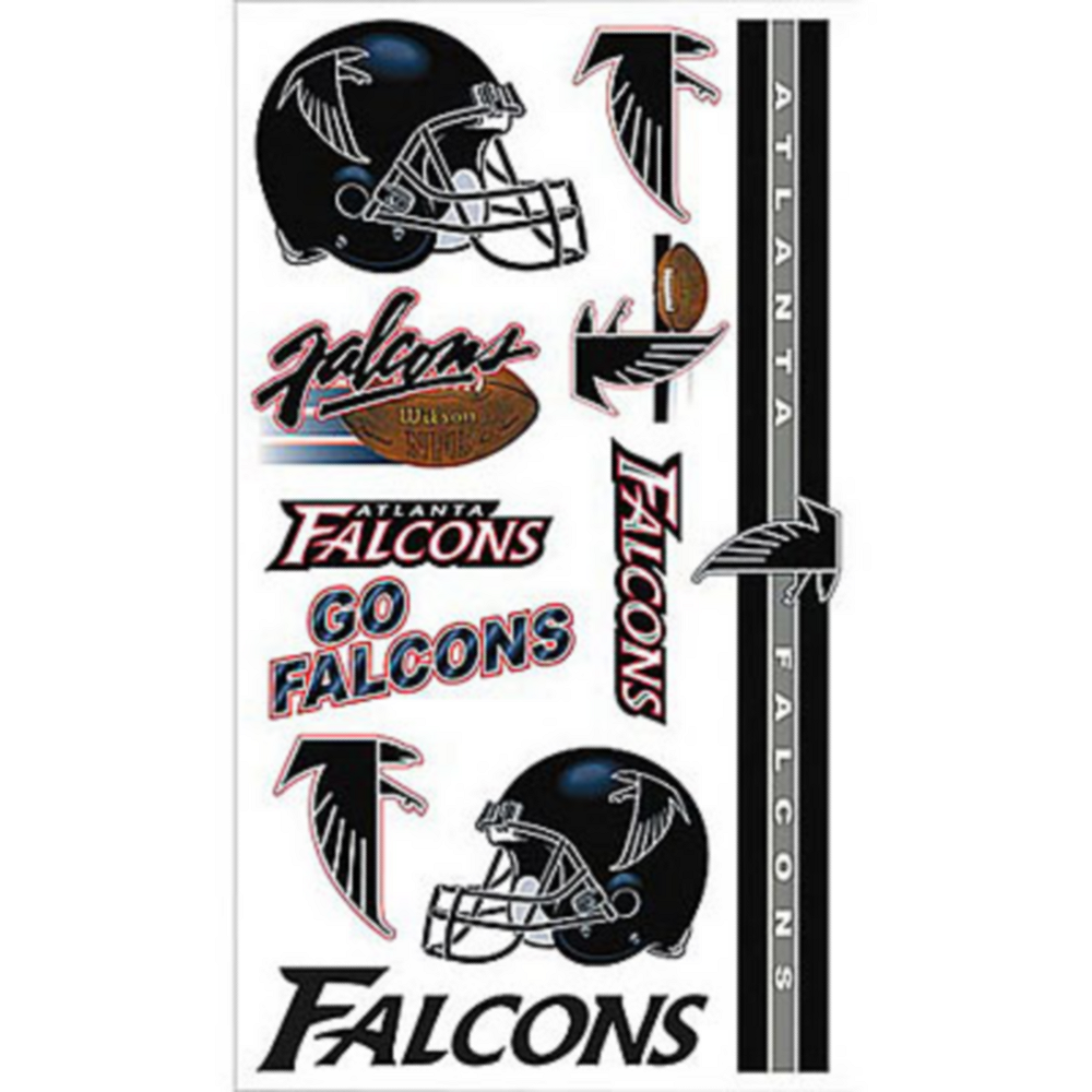 Atlanta Falcons Tattoos 10ct Image #1