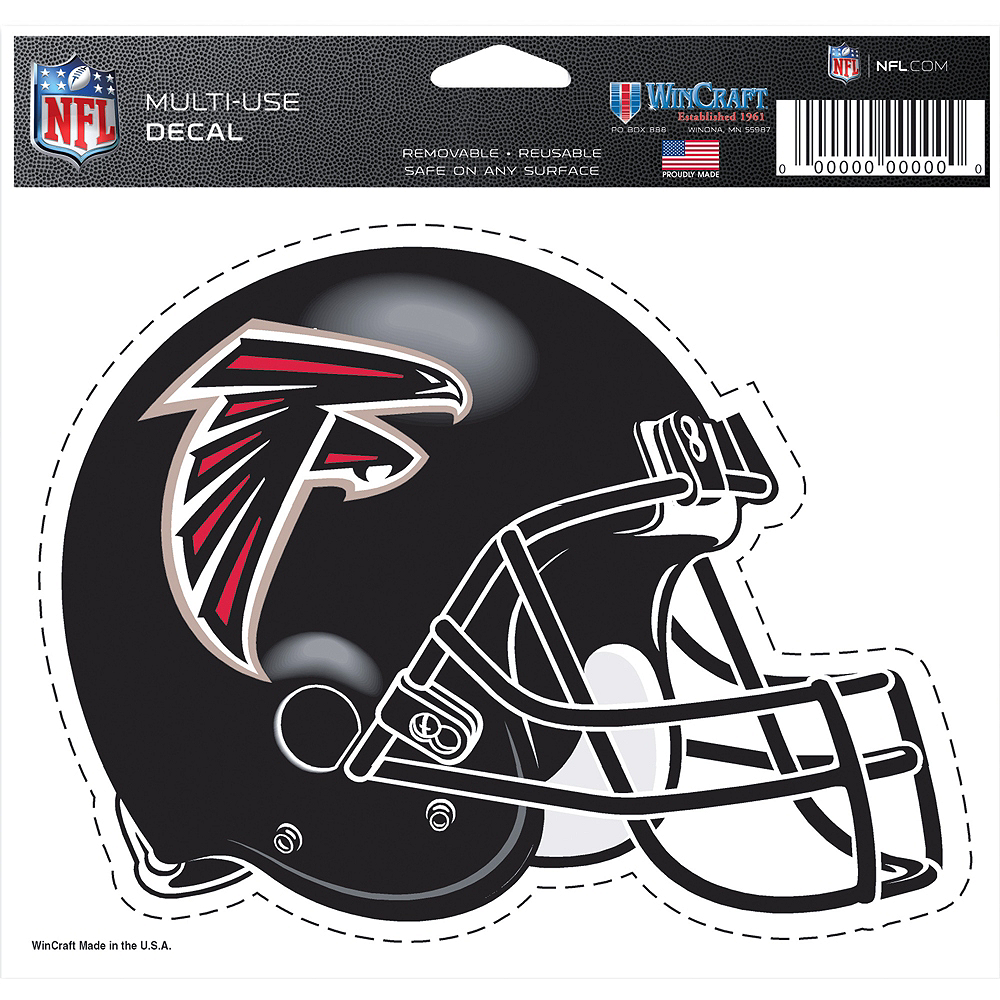 Atlanta Falcons Helmet Decal Image #2