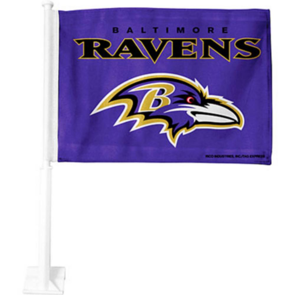 Baltimore Ravens Car Flag Image #1