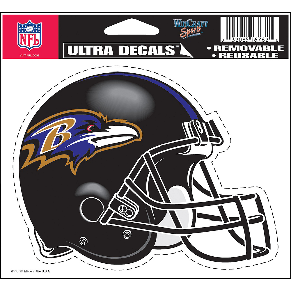 Baltimore Ravens Helmet Decal Image #2