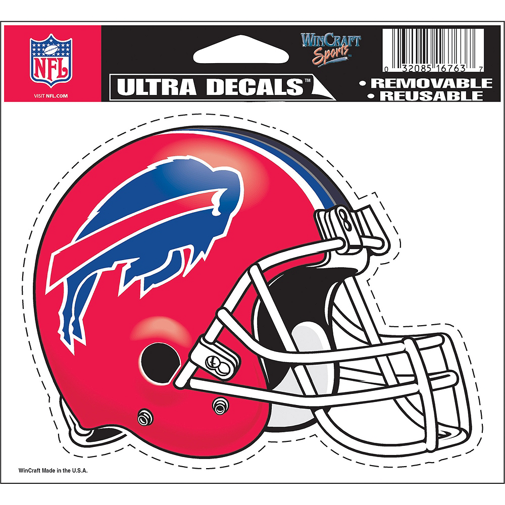 Buffalo Bills Helmet Decal Image #2