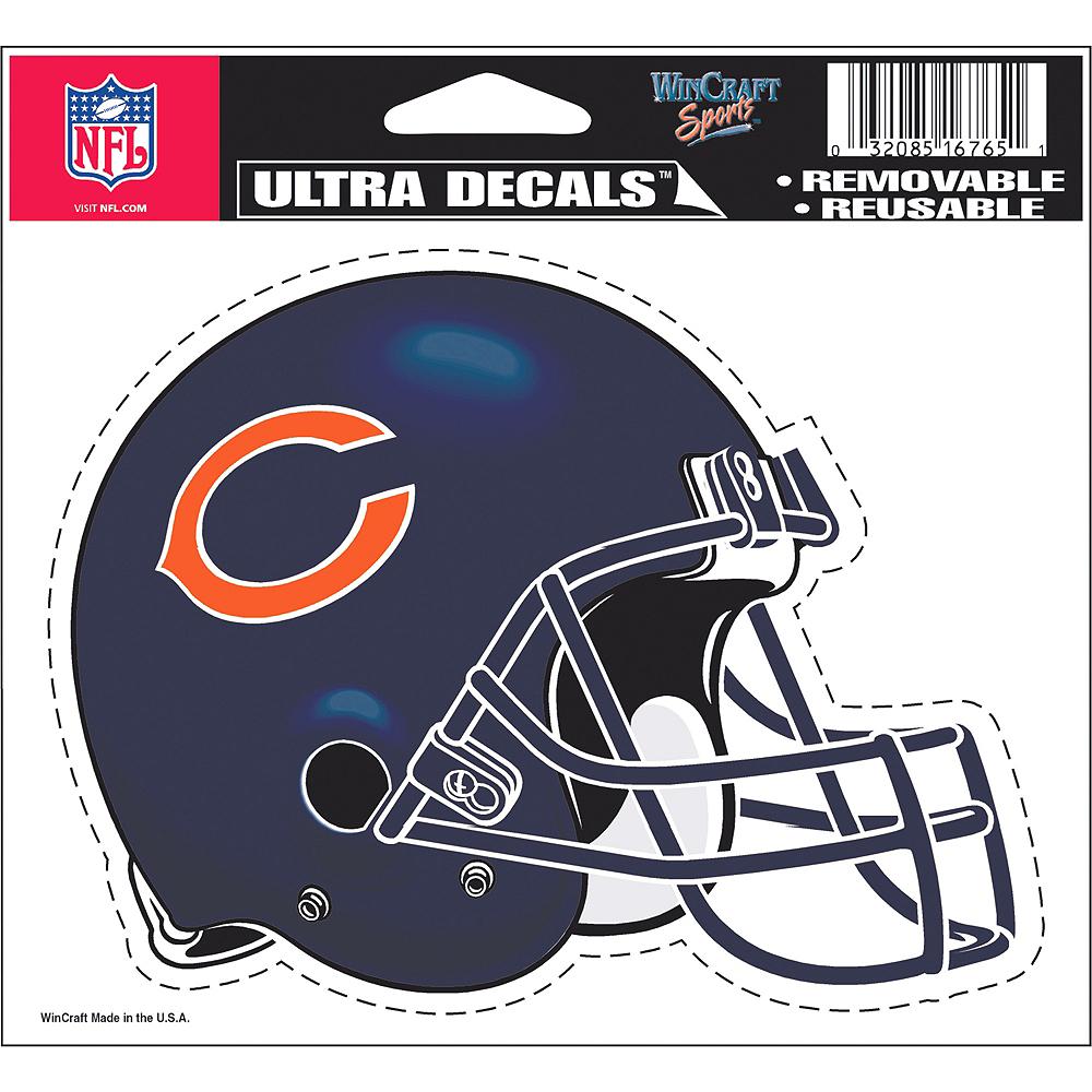 541751078ea ... Chicago Bears Helmet Decal Image #2