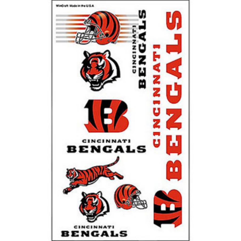 Cincinnati Bengals Tattoos 10ct Image #1