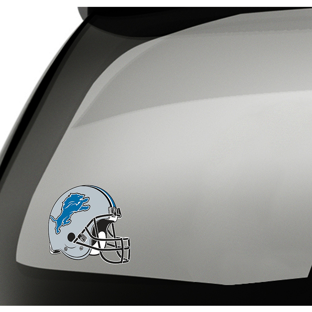 Detroit Lions Helmet Decal Image #1