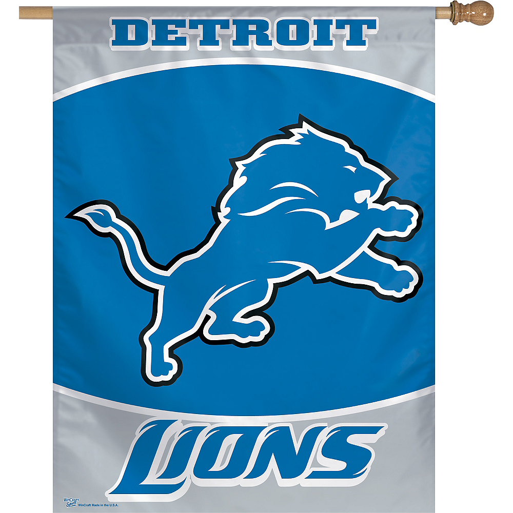 Nav Item for Detroit Lions Banner Flag Image #1
