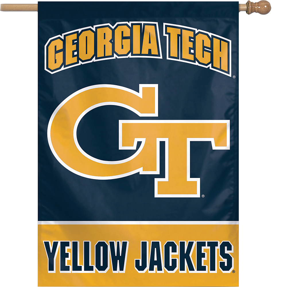 Georgia Tech Yellow Jackets Banner Flag Image #1
