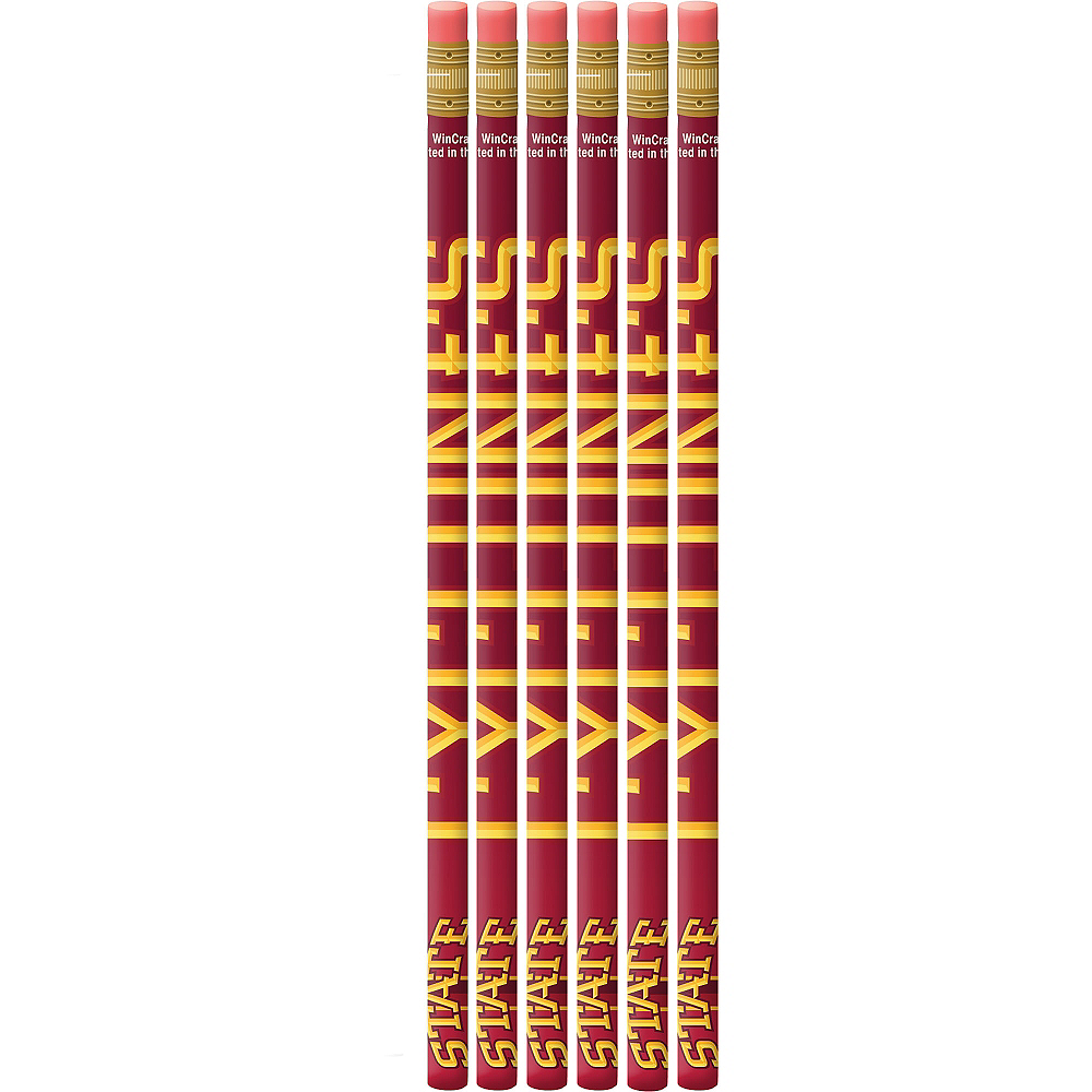Iowa State Cyclones Pencils 6ct Image #1