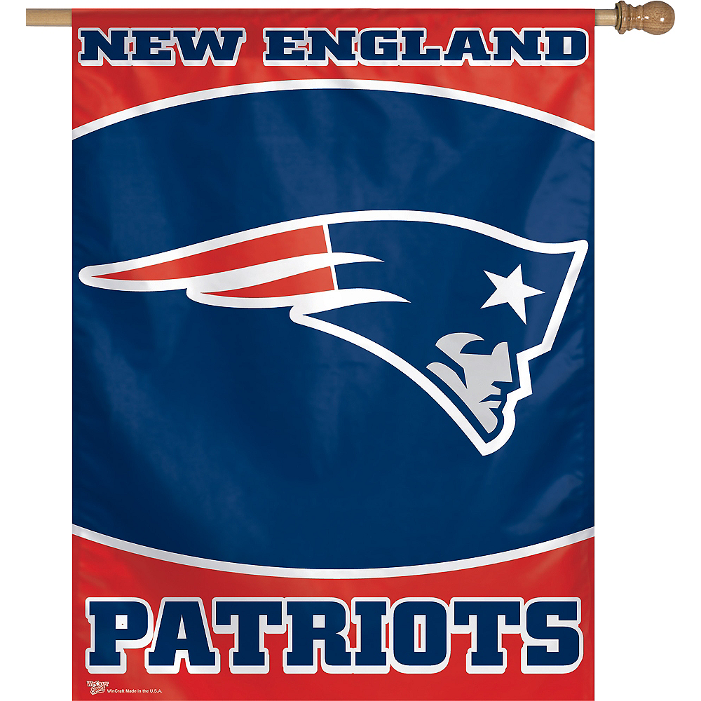 New England Patriots Banner Flag Image #1
