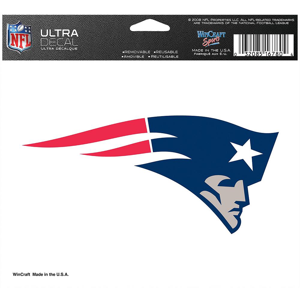 New England Patriots Helmet Decal Image #2