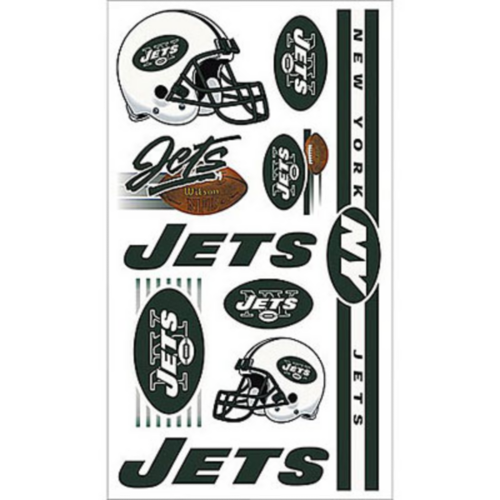 New York Jets Tattoos 10ct Image #1