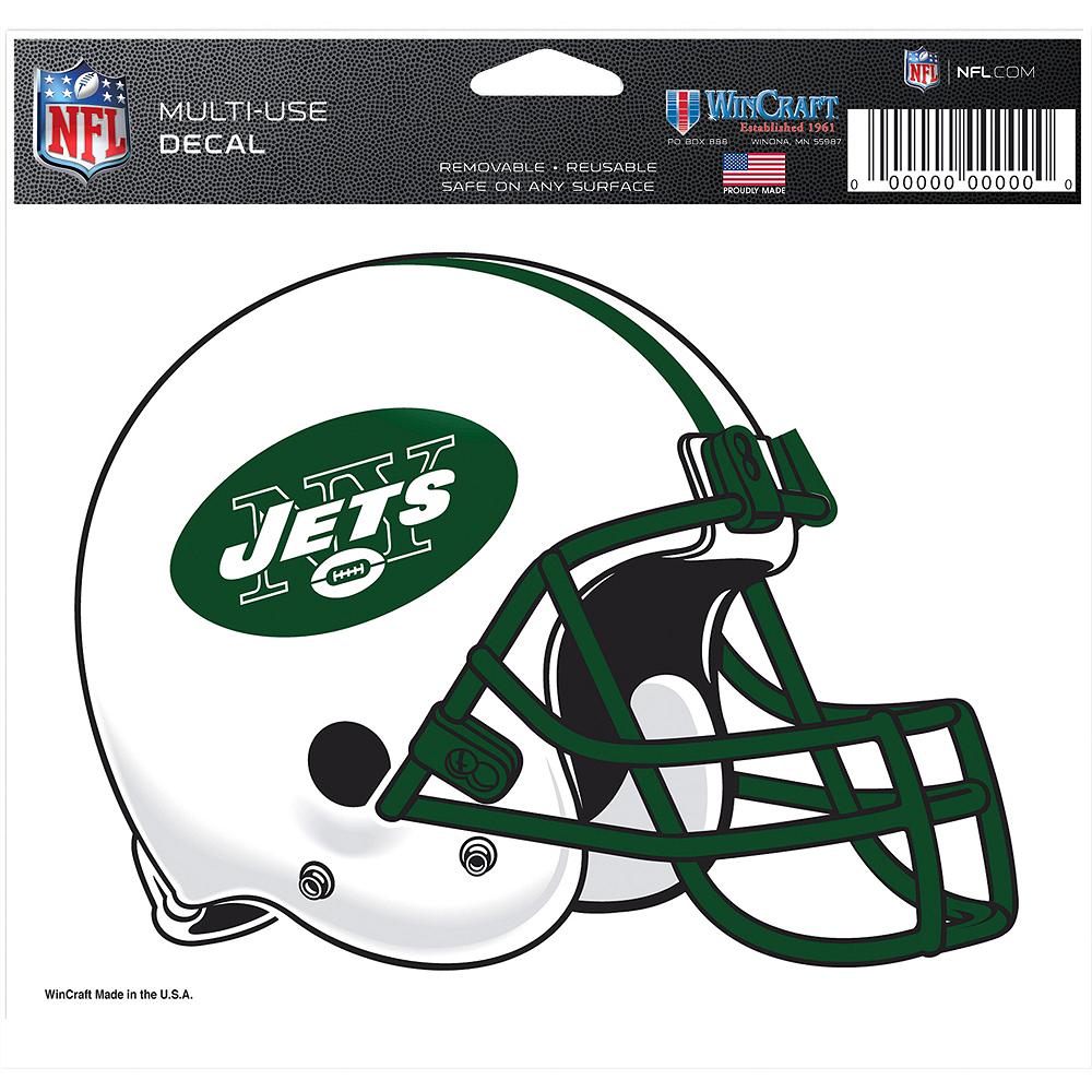 New York Jets Helmet Decal Image #2