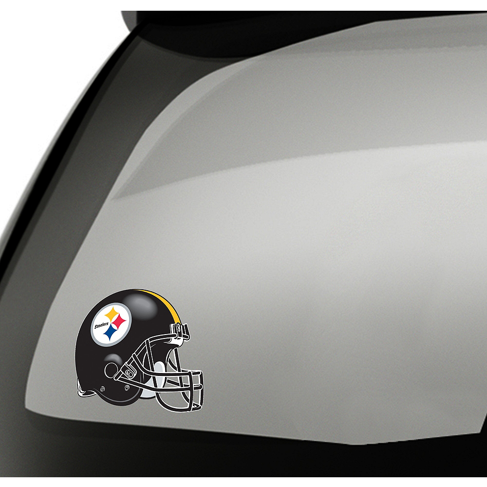 Pittsburgh Steelers Helmet Decal Image #1