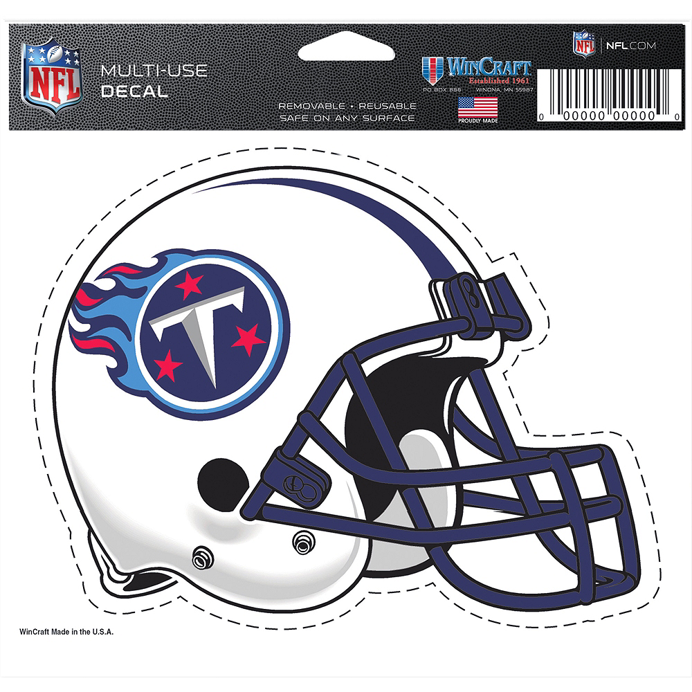 Tennessee Titans Helmet Decal Image #2