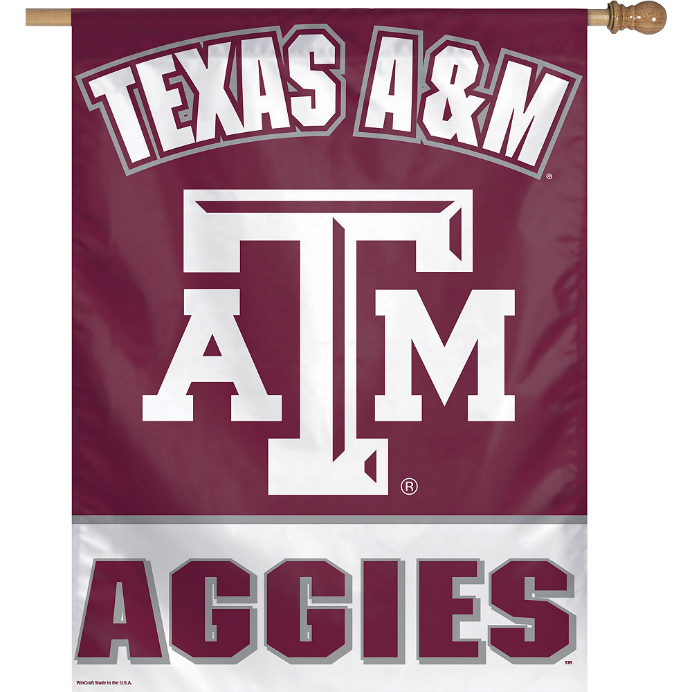 Nav Item for Texas A&M Aggies Banner Flag Image #1